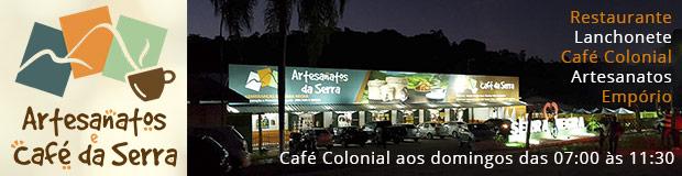ARTESANATOS E CAFÉ DA SERRA